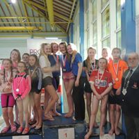 Girls U16 Relay team - 1st prize winners